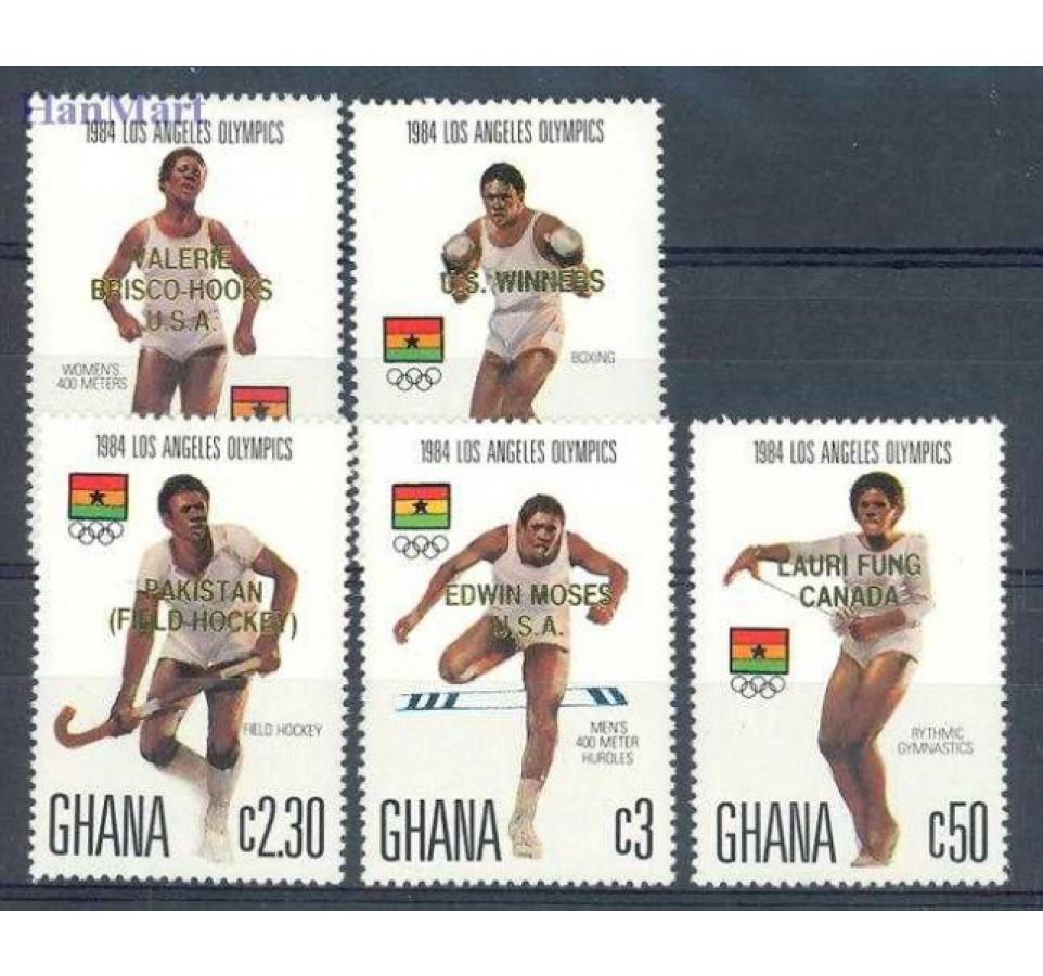 Ghana 1984 Mi 1079-1083 Czyste **