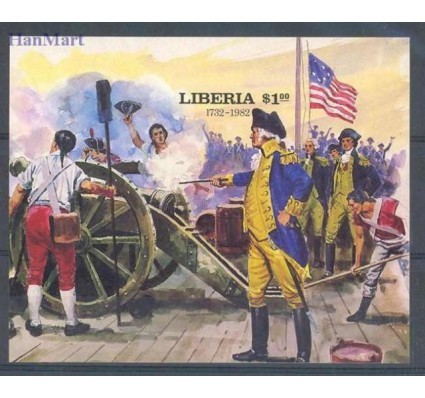 Znaczek Liberia 1982 Czyste **