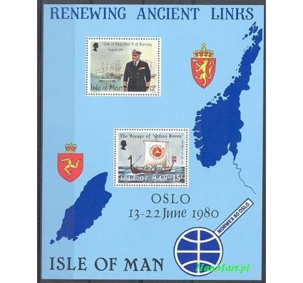 Wyspa Man 1980 Mi bl 4 Czyste **