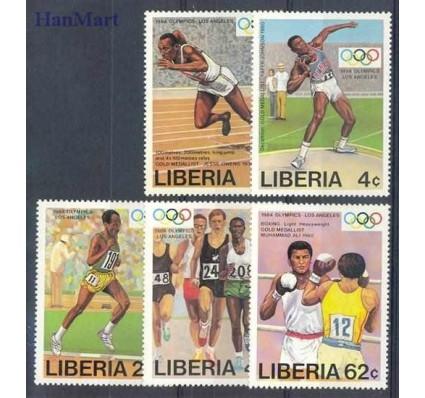 Znaczek Liberia 1984 Mi 1305-1309 Czyste **