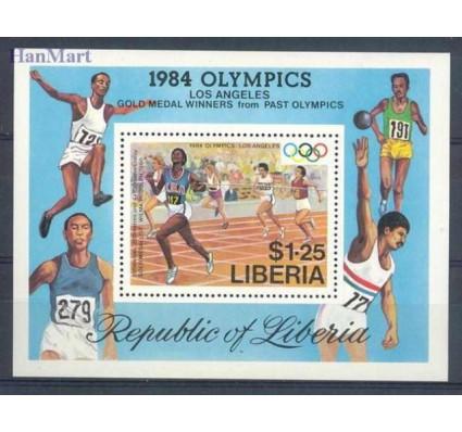 Znaczek Liberia 1984 Mi bl 108 Czyste **