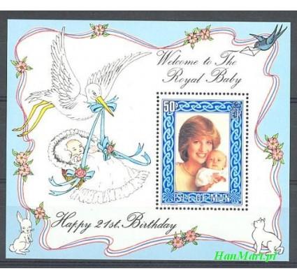 Wyspa Man 1982 Mi bl 6 Czyste **