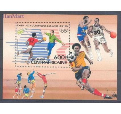 Znaczek Republika Środkowoafrykańska 1983 Mi bl 247 Czyste **