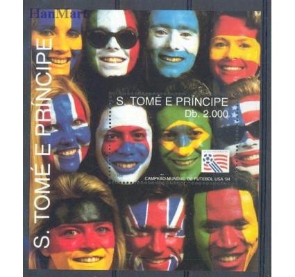 Znaczek Wyspy Św. Tomasza i Książęca 1993 Mi bl 304 Czyste **