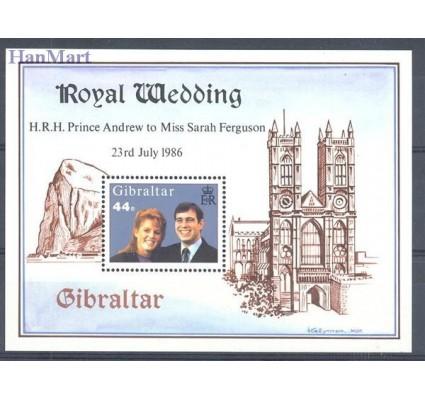 Znaczek Gibraltar 1986 Mi bl 10 Czyste **