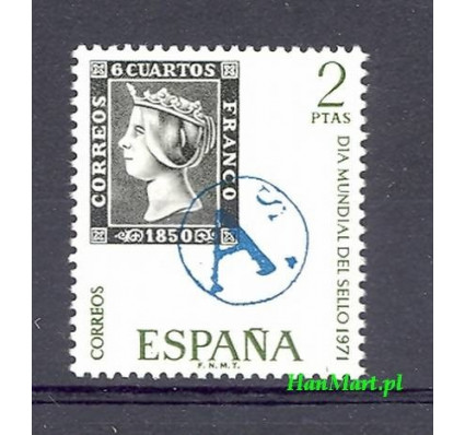Znaczek Hiszpania 1971 Mi 1928 Czyste **
