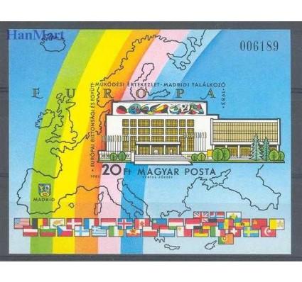 Znaczek Węgry 1983 Mi bl 168B Czyste **