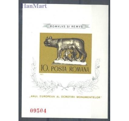 Znaczek Rumunia 1975 Mi bl 122 Czyste **