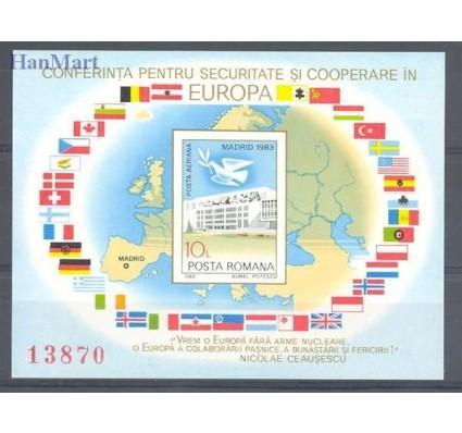 Znaczek Rumunia 1983 Mi bl 196 Czyste **