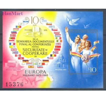 Znaczek Rumunia 1985 Mi bl 215 Czyste **