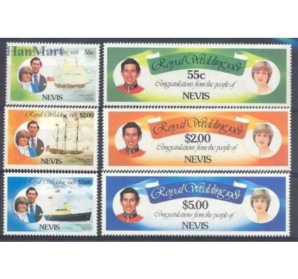 Znaczek Nevis 1981 Mi 60-65 Czyste **