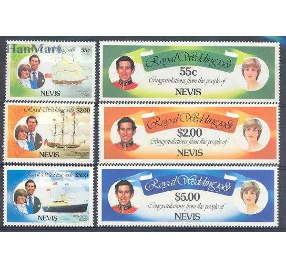 Nevis 1981 Mi 60-65 Czyste **