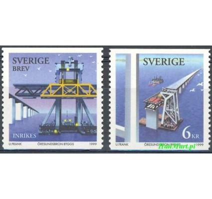 Znaczek Szwecja 1999 Mi 2112-2113 Czyste **
