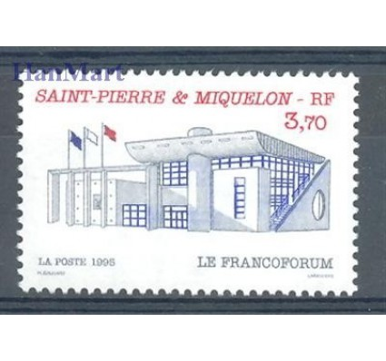 Saint-Pierre i Miquelon 1995 Mi 700 Czyste **