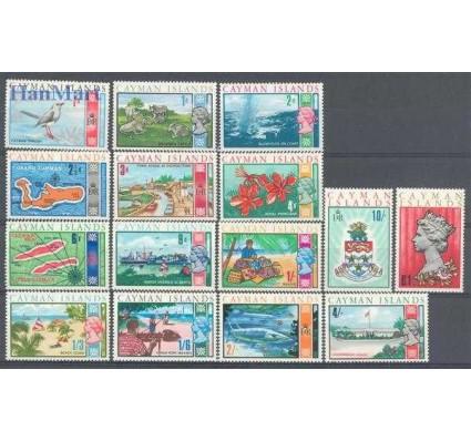 Znaczek Kajmany 1969 Mi 211-225 Czyste **