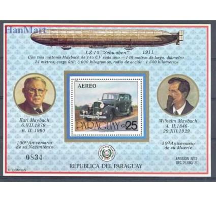 Znaczek Paragwaj 1980 Mi bl 349 Czyste **