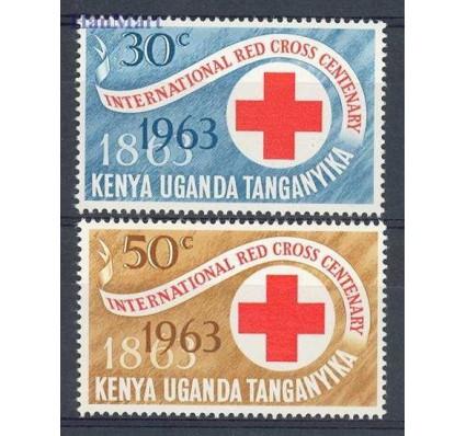 Znaczek Kenia Uganda Tanganyika 1963 Mi 130-131 Czyste **