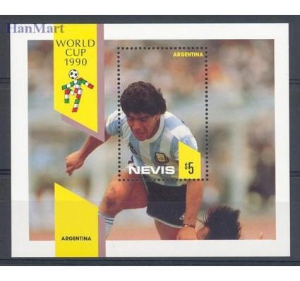 Znaczek Nevis 1990 Mi bl 27 Czyste **
