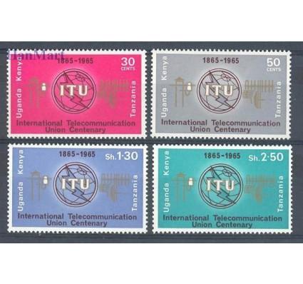 Znaczek Kenia Uganda Tanganyika 1965 Mi 140-143 Czyste **