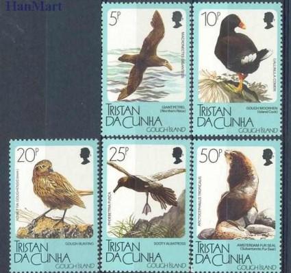 Znaczek Tristan da Cunha 1989 Mi 468-472 Czyste **