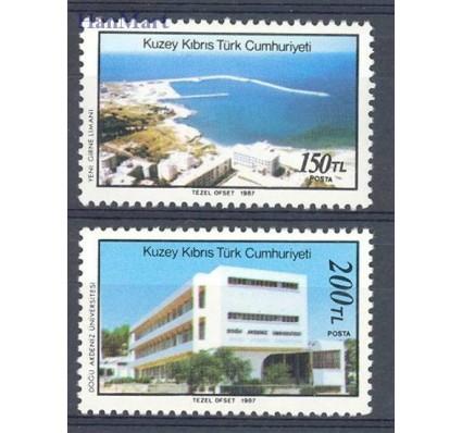 Znaczek Cypr Północny 1987 Mi 218-219 Czyste **