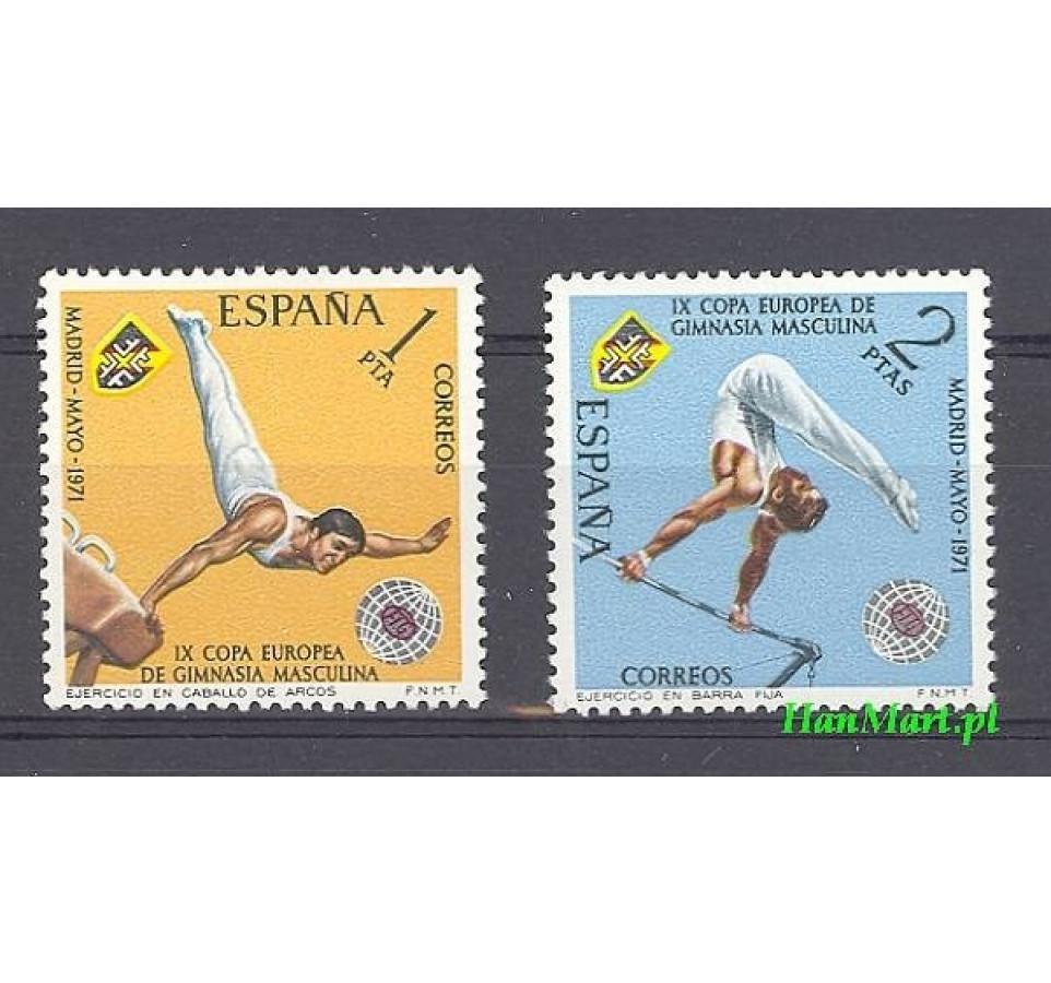 Hiszpania 1971 Mi 1929-1930 Czyste **