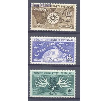 Znaczek Turcja 1954 Mi 1388-1390 Czyste **