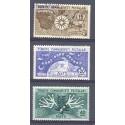 Turcja 1954 Mi 1388-1390 Czyste **