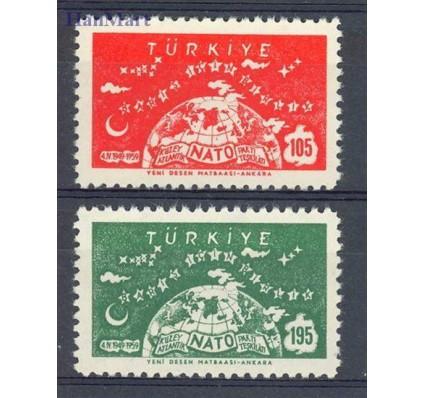 Znaczek Turcja 1959 Mi 1621-1622 Czyste **