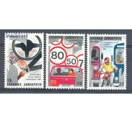 Znaczek Grecja 1986 Mi 1627-1629 Czyste **
