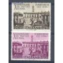 Włochy 1967 Mi 1221-1222 Czyste **