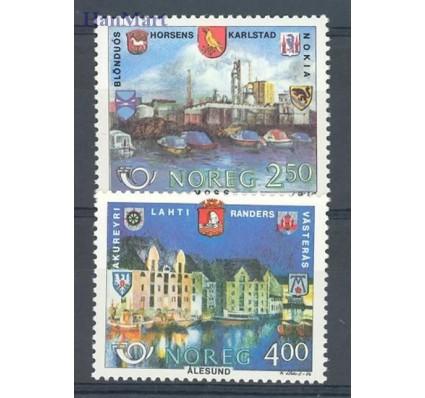 Znaczek Norwegia 1986 Mi 948-949 Czyste **
