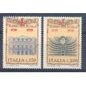 Włochy 1978 Mi 1598-1599 Czyste **