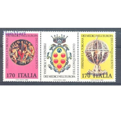 Znaczek Włochy 1980 Mi 1698-1699 Czyste **