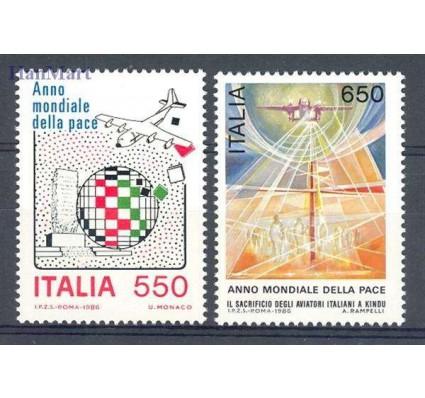Znaczek Włochy 1986 Mi 1998-1999 Czyste **