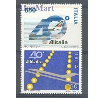 Znaczek Włochy 1986 Mi 1988-1989 Czyste **