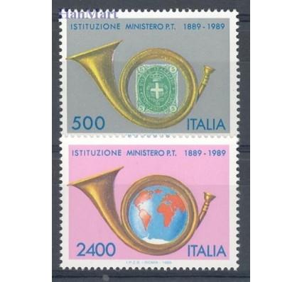 Znaczek Włochy 1989 Mi 2088-2089 Czyste **
