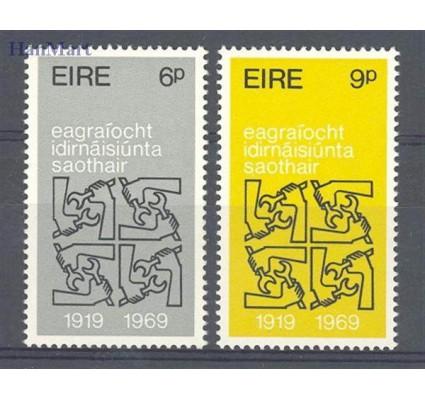 Znaczek Irlandia 1969 Mi 232-233 Czyste **