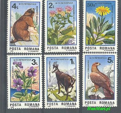 Rumunia 1985 Mi 4172-4177 Czyste **