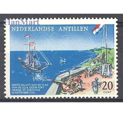 Znaczek Antyle Holenderskie 1961 Mi 117 Czyste **
