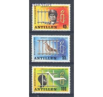 Znaczek Antyle Holenderskie 1986 Mi 589-591 Czyste **