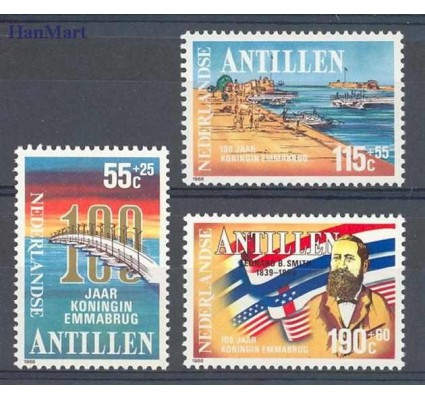Znaczek Antyle Holenderskie 1988 Mi 635-637 Czyste **