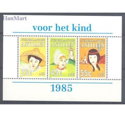 Znaczek Antyle Holenderskie 1985 Mi bl 29 Czyste **