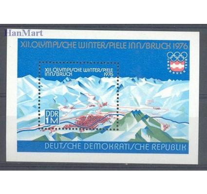Znaczek NRD / DDR 1975 Mi bl 43 Czyste **