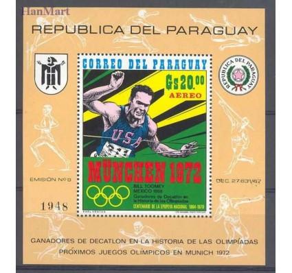 Znaczek Paragwaj 1971 Mi bl 159 Czyste **