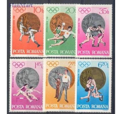 Znaczek Rumunia 1972 Mi 3060-3065 Czyste **