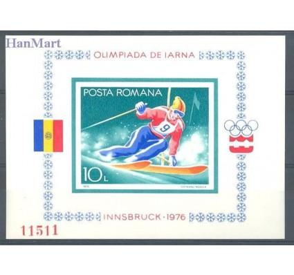Znaczek Rumunia 1976 Mi bl 129 Czyste **