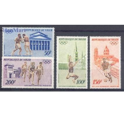 Znaczek Niger 1972 Mi 331-334 Czyste **