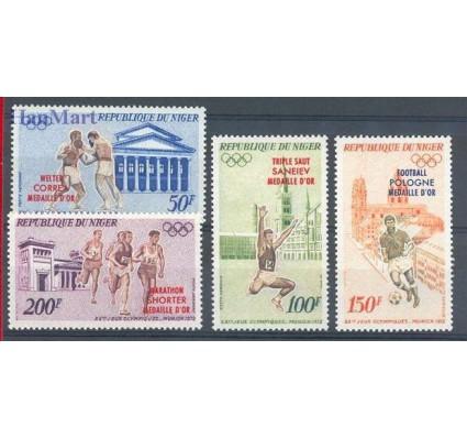 Znaczek Niger 1972 Mi 348-351 Czyste **