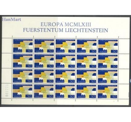 Znaczek Liechtenstein 1963 Mi ark 431 Czyste **